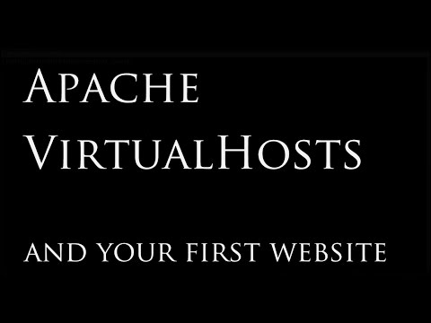 Set Up Your First Website with Apache VirtualHosts