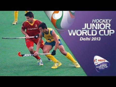 Belgium vs Australia - Men's Hero Hockey Junior World Cup India 5th/6th Place [15/12/2013]