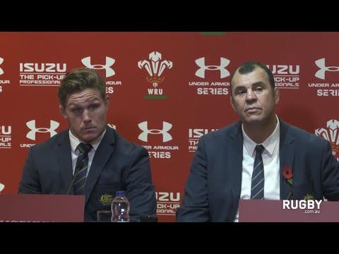 Full post match press conference: Wallabies