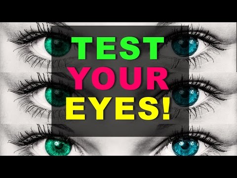 97% Fail... Test your EYES! (incl. secret message)