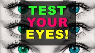 97% Fail... Test your EYES! (incl. secret message)