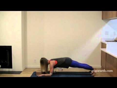 yoga asana arm balance pose from tripod headstand into