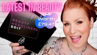 LATEST IN BEAUTY JULY BEAUTY SUBSCRIPTION UNBOXING - 6 PRODUCT BOX FOR £15
