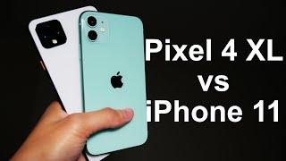 Pixel 4 XL vs iPhone 11 Camera Comparison