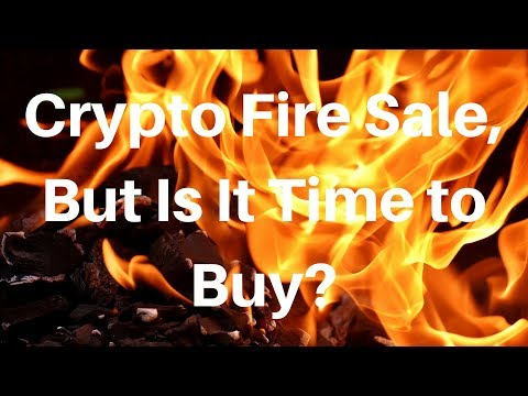 Crypto Fire Sale, But Is It Time To Buy?