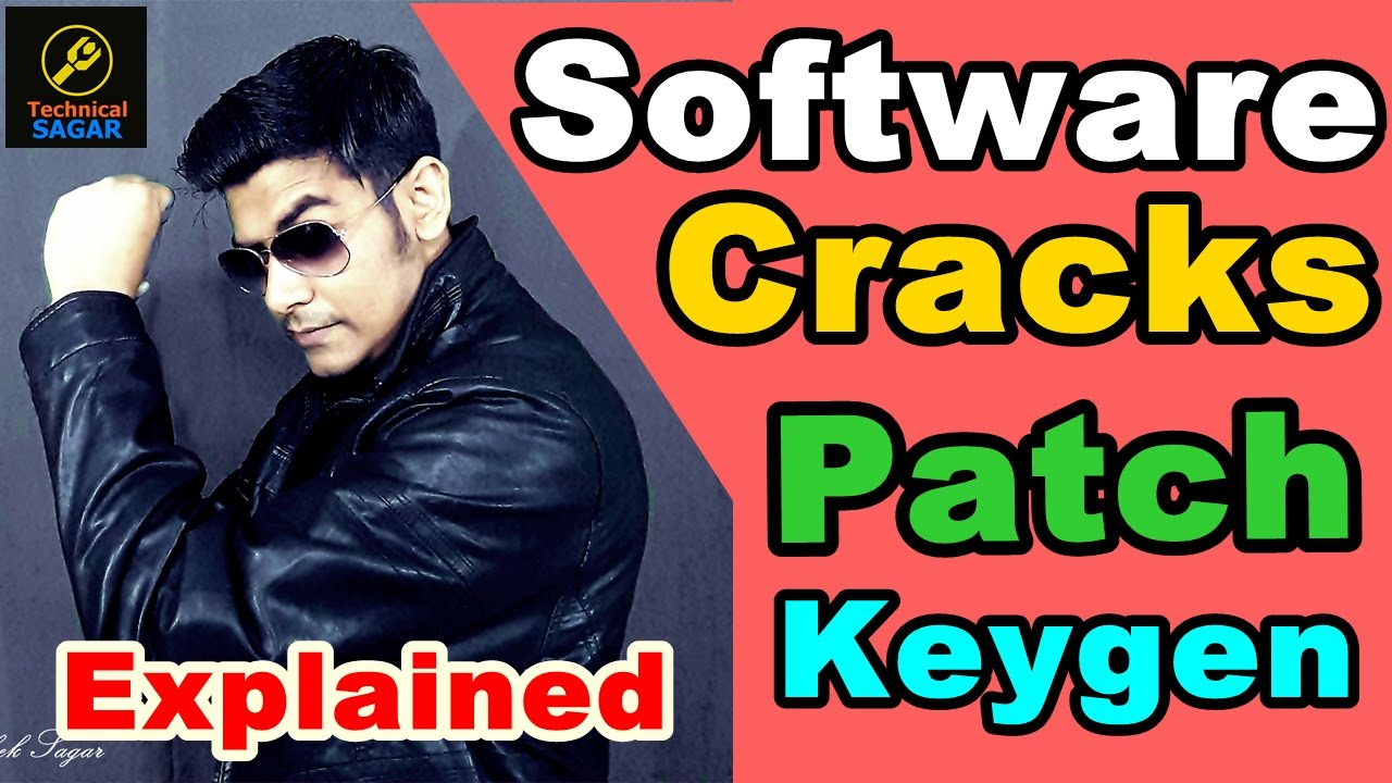 [Hindi] Software Cracks | Patches | Keygen | illegal ? Explained in Brief