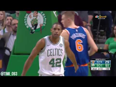 Al Horford Highlights vs New York Knicks (13 pts, 13 reb, 5 ast)