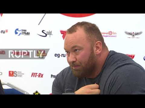 Russia: Game of Thrones' star arrives to Moscow for sport festival