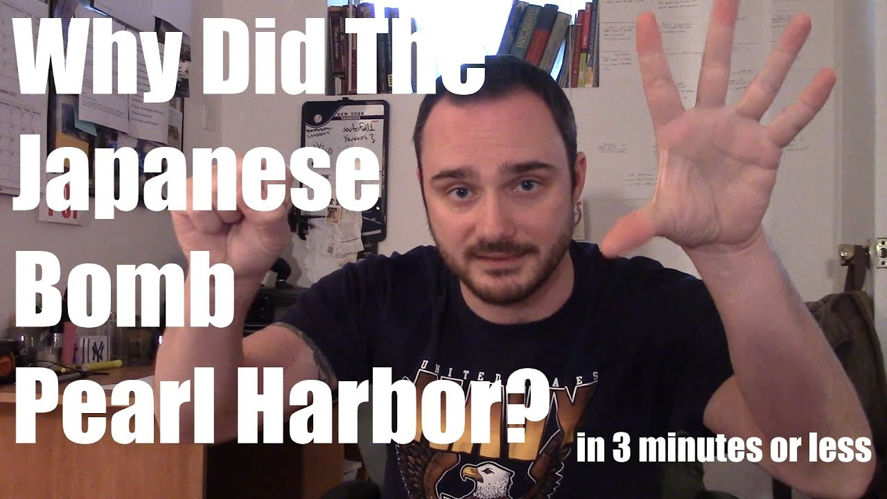 Why Did The Japanese Pearl Harbor