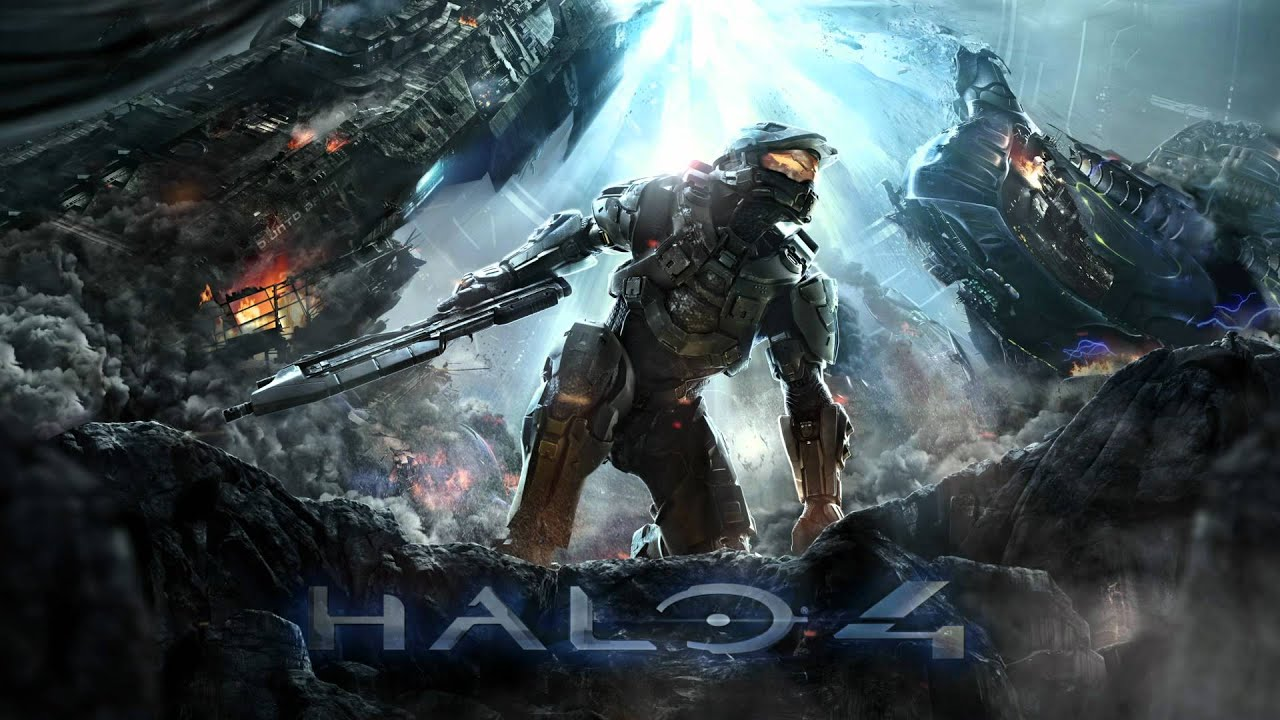 Halo Wallpaper Fall Of Reach Halo 4 Cover Art Youtube