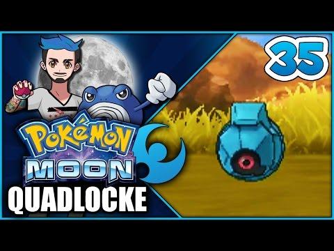 Pokémon Moon Quadlocke Part 35 | BEL-DUMBO