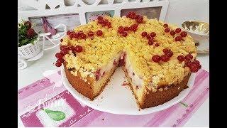 Pudingli Frenk Üzümlü enfes Kek Tarifi I Puddingkuchen mit Johannisbeeren