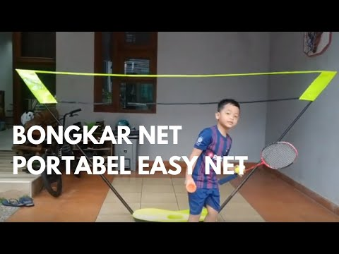 d55b98d6b Como montar a mesa de Tenis de Mesa FT950 Artengo - Exclusividade Decathlon  Decathlon Brasil · Review Portable Net Badminton ARTENGO EASY NET DECATHLON  ...