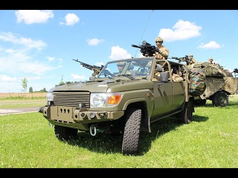 Belgian Defense Minister Steven Vandeput unveils new FOX vehicle for Special Operations Forces
