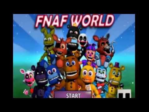fnaf world update 3 download free