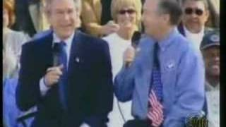 George W Bush - Inexplicable Laugh