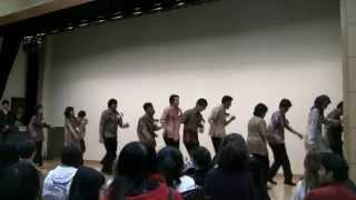 Sajojo Dance (International Student Party 2011 - Kumamoto University, tanggal 21 Desember 2011)