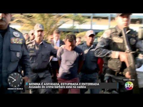 Suspeito de estuprar, matar e enterrar menina é preso no Maranhão | Primeiro Impacto (07/11/17)