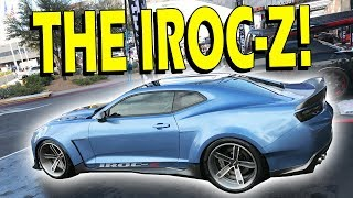 Camaro IROC-Z - Pricing & Overview with 6LEDesigns   SEMA 2017