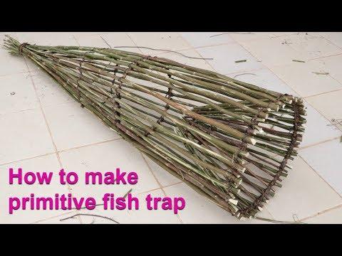 We Survival - How To Make Primitive Fish Trap