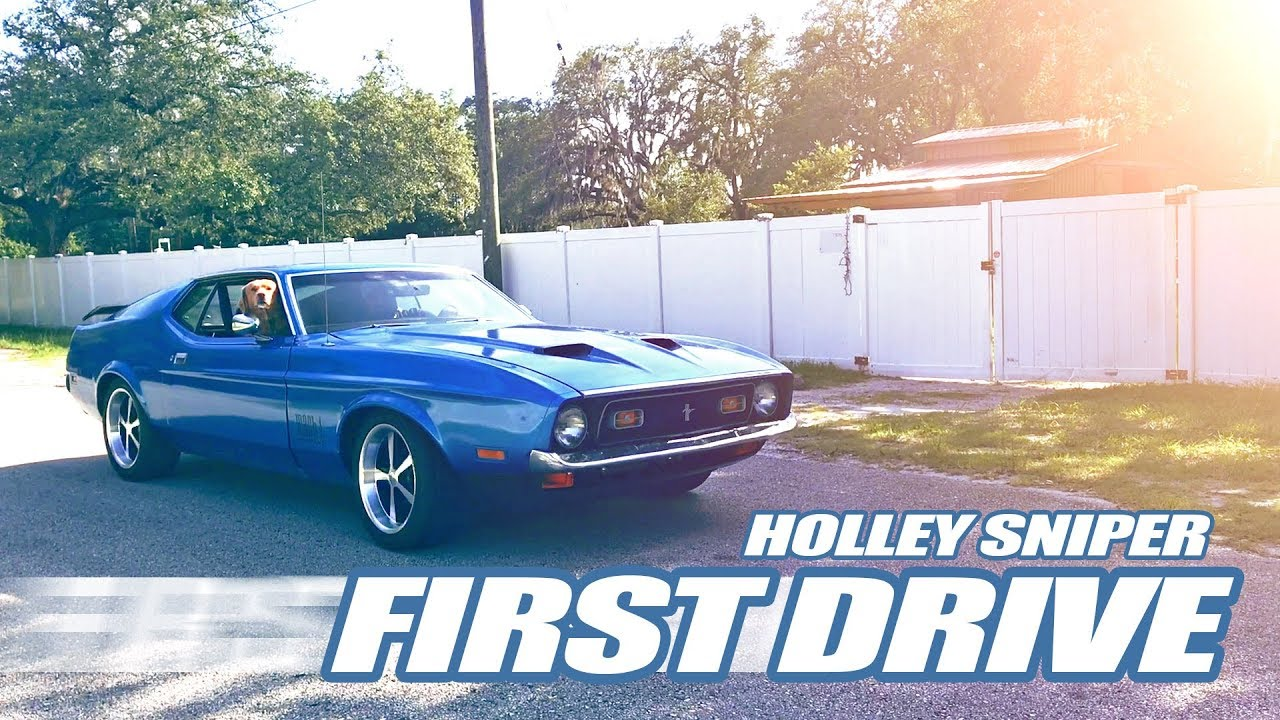 Mustang First Drive After Holley Sniper EFI Installation