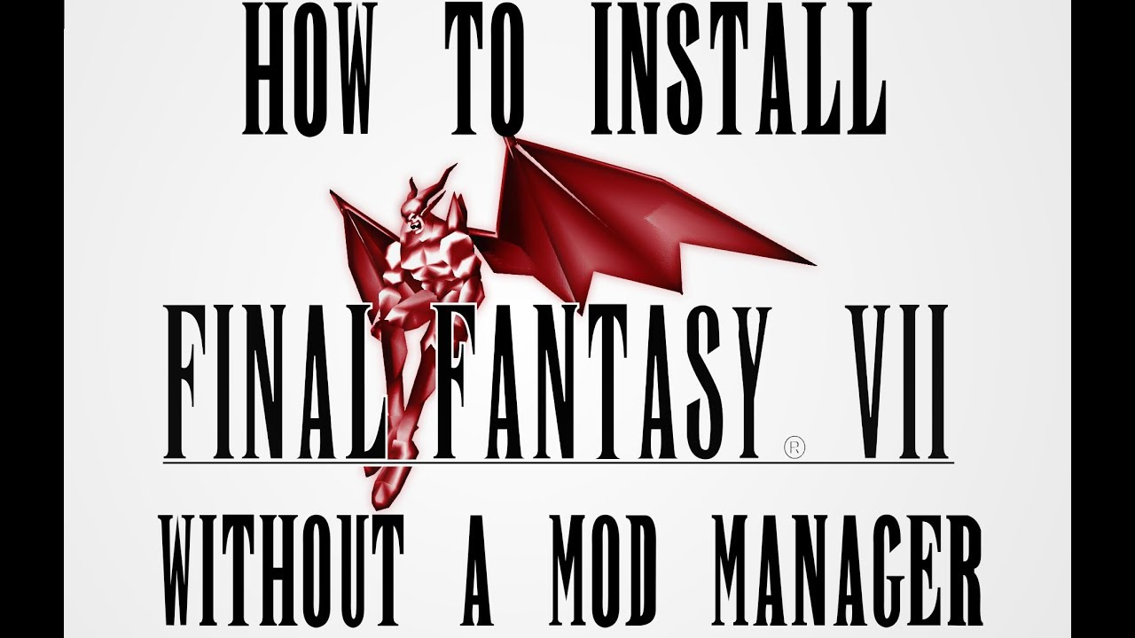 How to Install FF7 ChaOS Mod without 7th Heaven Mod Manager
