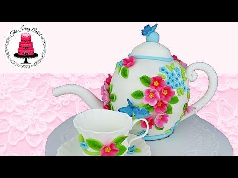 How To Make A D Flower Pot Cake