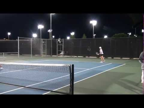 Highlights: Day one at the Firestone 2012 Lone Star Conference Tennis Championships