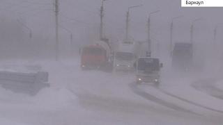 Мощный циклон пришел в Алтайский край. Веден режим ЧС(, 2017-02-21T08:36:37.000Z)