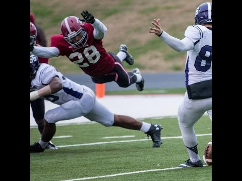 Zach Richardson DB #28 (Special Teams Footage) Henderson State University