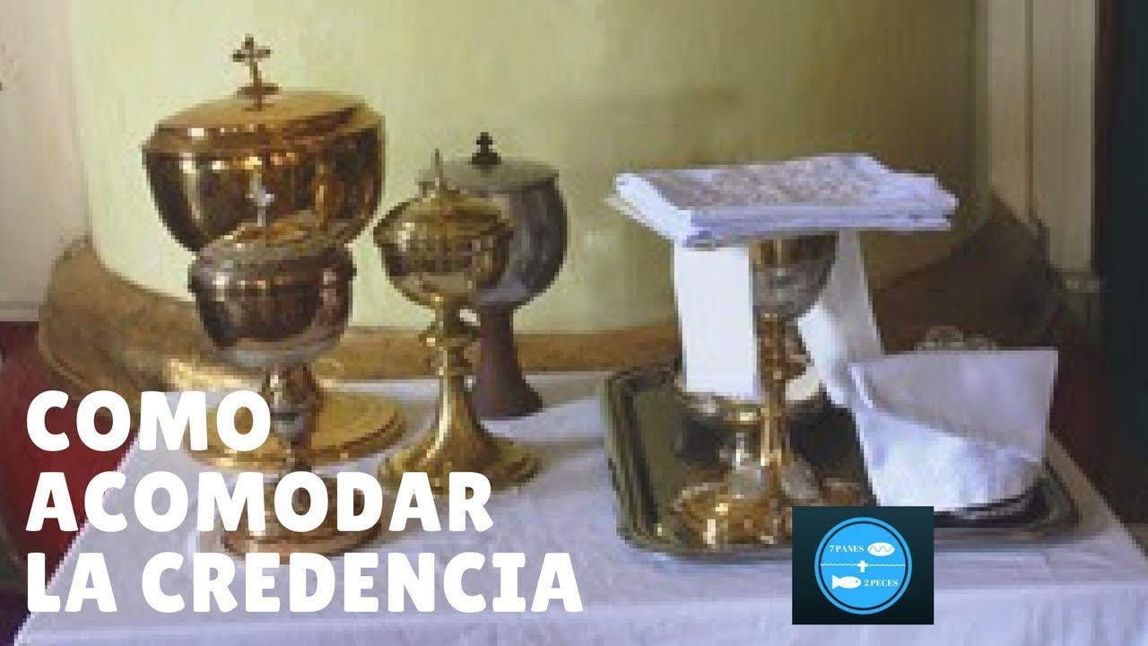 Credencia Iglesia : Como acomodar la credencia youtube