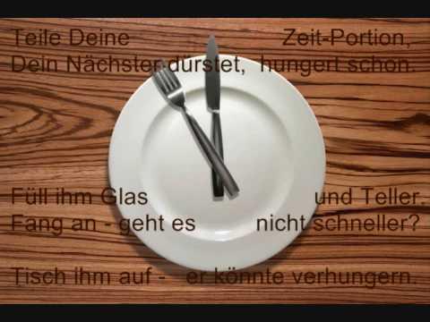 Zeit ist ein Geschenk. Gedicht von Phil Humor.