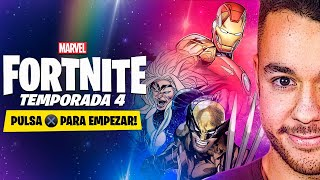 FORTNITE X MARVEL TEMPORADA 4 - TheGrefg