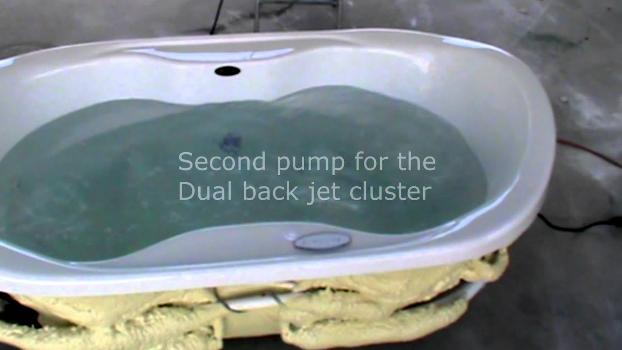 Izzi Combination Whirlpool and Air Bath.mp4 - YouTube