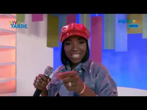 Pérola abre o programa Viva Tarde com música Diz a Ela