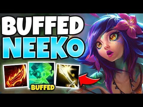 WOW! ON-HIT NEEKO GOT BUFFS AND IT'S 100% UNFAIR! TOP NEEKO = FREELO - League of Legends