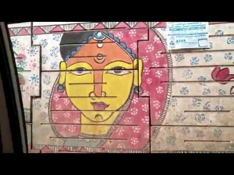 #Патна #граффити по-индийски Путешествие с Марией Карпинской #МамаИндия