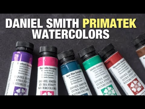 Review: Daniel Smith Primatek Watercolors