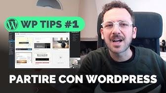 WordPress: Come iniziare a creare siti Professionali. Temi, Strumenti, Snippets e Risorse #WPTIPS 1