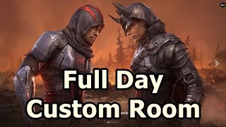 PUBG Mobile Live - Full Day Custom Room - Can We Hit 500 Subs Today