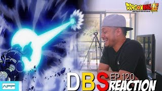 DBS 120 Ultimate Mystic Gohan vs Universe 3 Megazord Reaction!