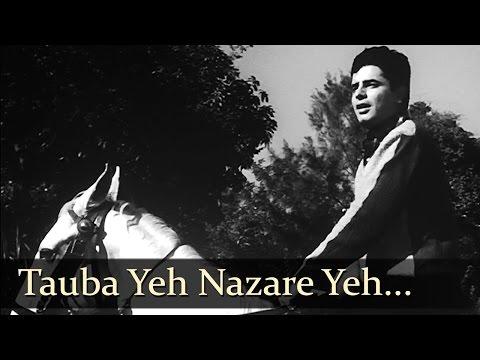 Tauba Yeh Nazare Yeh - Sanjay Khan - Dillagi - Rafi Rare Romantic Solo - Laxmikant Pyarelal