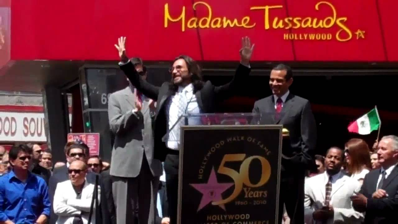 Marco Antonio Solis accepts star on Hollywood Walk of Fame - YouTube