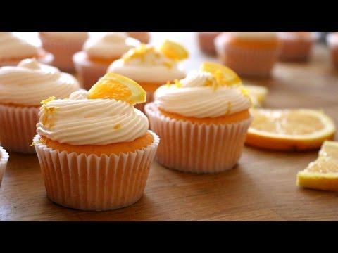 Orange Creamsicle Cupcakes Recipe   Sweetco0kiepie