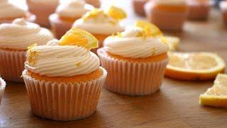 Orange Creamsicle Cupcakes Recipe | sweetco0kiepie