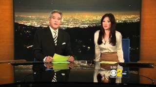 Sharon Tay 2011/12/08 5PM, 11PM CBS2 HD; White blouse