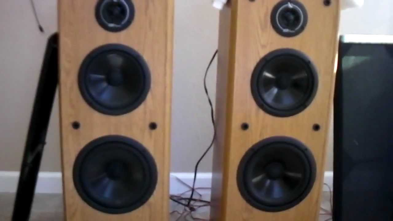 Infinity Sl 40 Floor Standing Tower Speakers Youtube