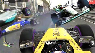HOLY CRASH! CHAOS UNLEASHED - F1 Game Online Funny Moments