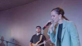 Simiane - Inonde ce lieu/Saint-Esprit/La voix des sentinelles (French worship medley)