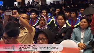 Wisuda ke XXIII STP Nusa Dua Bali
